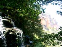 Riscos y cascadas del Parque Nacional de las Blue Mountains
