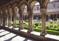 Claustro del Real Monasterio de Santa María de Pedralbes