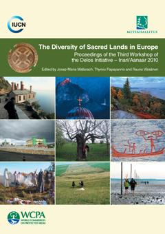 Portada del volum 'The Diversity of Sacred Lands in Europe. Proceedings of the Third Workshop of the Delos Initiative - Inari/Aanaar 2010