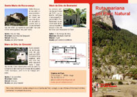 Folleto Ruta mariana por el Parque Natural del Cadí-Moixeró