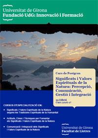 Significats i Valors Espirituals de la Natura: Percepció, Comunicació, Gestió i Integració