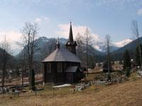 Pueblecito de Tatranská Javorina, en la región del Alto Tatras de Eslovaquia
