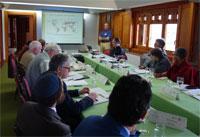 Une sesión du seminaire de Torreciudad.
