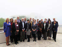 Participants of the Symposium at The Getty Fountation, Los Angeles.