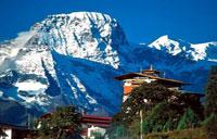 Muntanyes de Bhutan