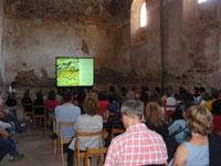 Conferencia en el antiguo refectorio