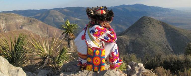 Indígena Huichol.