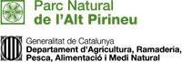 El logo del Parc Natural de l'Alt Pirineu mostra la sexifol·lia, símbol de vida, present en l'art tradicional rural -sobretot pastoral- i l'art sagrat de tot el Pirineu, des de temps prehistòrics fins el present.