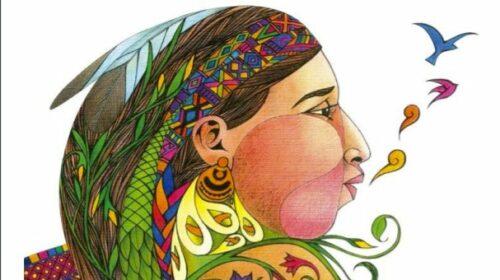 imatge donaindígena dibuix